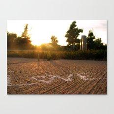 Love Under the Sun Canvas Print
