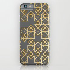 Geometric Gold Slim Case iPhone 6s