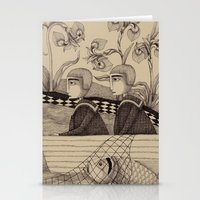 The Golden Fish (2) Stationery Cards