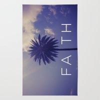 Palm Tree Faith Rug