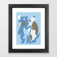 Pokemon 7 8 An 9 Framed Art Print