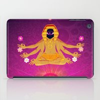Flowers from Beyond iPad Case