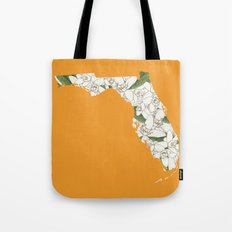 Florida in Flowers Tote Bag