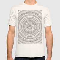 lines lines lines.. Mens Fitted Tee Natural SMALL