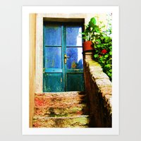 Up Stairs Apartment  Art Print