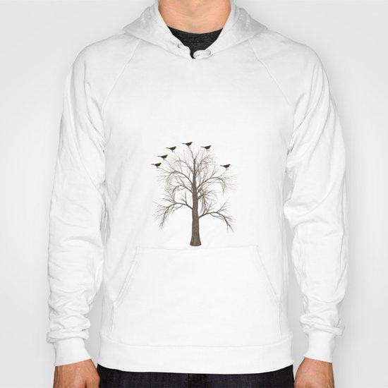 Tree with Birds Hoody