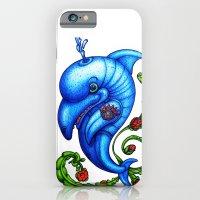 Dolphin Blue iPhone 6 Slim Case