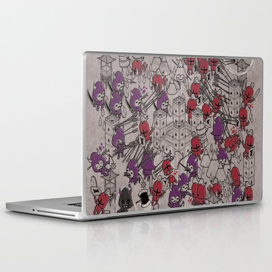 The Great Battle of 1211 Laptop & iPad Skin