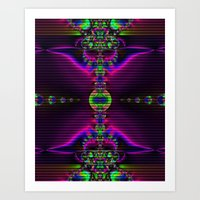 Abstract Fractal Fantasy 2 Art Print