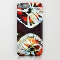 iPhone & iPod Case featuring tesugi shibori by guidtati