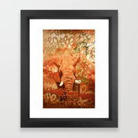 The Charge Pt. 1 Framed Art Print