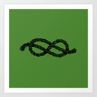 Common Rope Logo Art Print