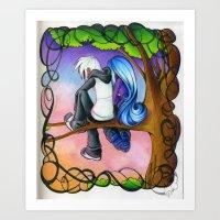 .:Hang Out:. Art Print