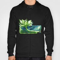 Green Lotus Hoody