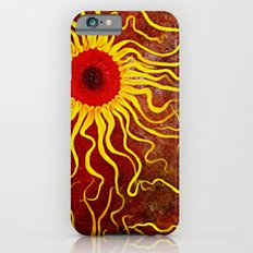 Psychedelic Susan 003, Sunflowers iPhone 6 Slim Case