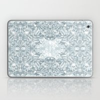 Lace Geometric // Kaleidoscope of blues Laptop & iPad Skin
