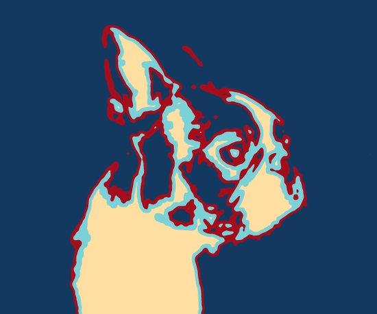 Pop Dog Art Print