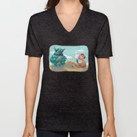Death Of The Imagination Unisex V-Neck