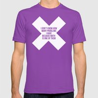Math Mens Fitted Tee Ultraviolet SMALL