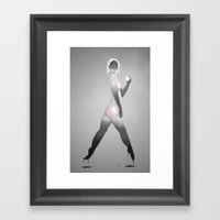 The Ghost Framed Art Print