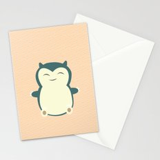 It aint easy being sleepy. Stationery Cards
