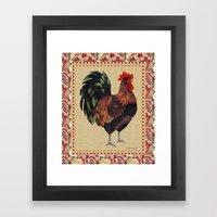 Whitney Farms Rooster 2 Framed Art Print