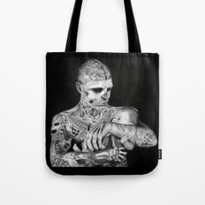 ZOMBIE BOY Tote Bag