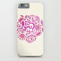 Be You-Tiful (pink edition) iPhone 6 Slim Case