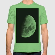 Moon Mens Fitted Tee Grass SMALL
