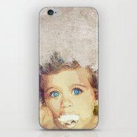 Little Girl iPhone & iPod Skin