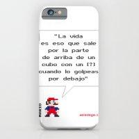 Mario ¿Qué es la vida? iPhone 6 Slim Case