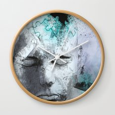 Puzzled Wall Clock