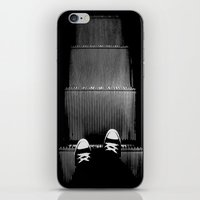 Up The Down Escalator iPhone & iPod Skin