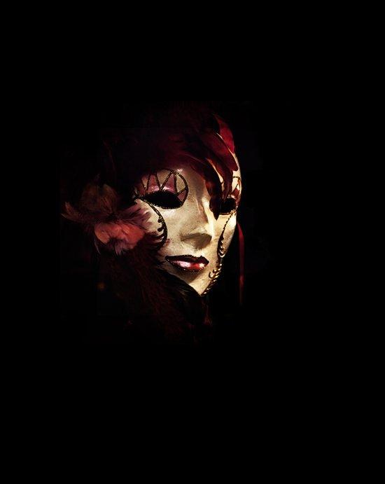 Mask 5 Art Print