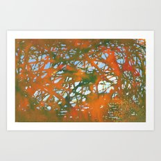 Tangled Fall Art Print
