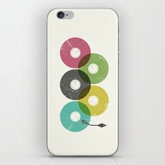 Olympic Records iPhone & iPod Skin