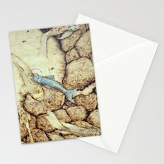 Ode to the Blue Koi Stationery Cards