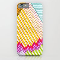 iPhone & iPod Case featuring Isometric Harlequin #6 by KATE KOSEK