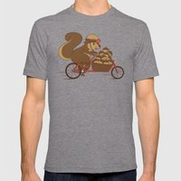 Precious Cargo Mens Fitted Tee Tri-Grey SMALL