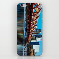 Peace Bridge Calgary iPhone & iPod Skin