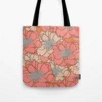 Loud Floral Tote Bag