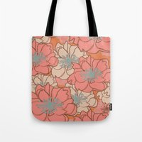 Loud Floral Tote Bag