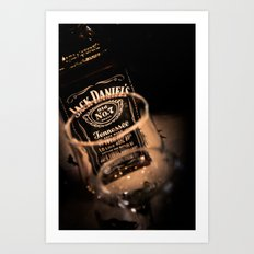 Jack Daniels Whisky Art Print