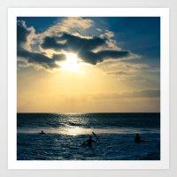E ala mai o loko i ke kuhohonu o ke Aloha Kamaole Beach Art Print