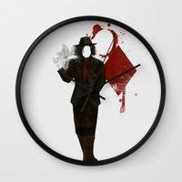 Jack Of Diamonds Wall Clock