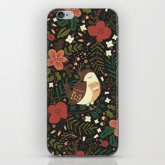 Christmas Robin iPhone & iPod Skin
