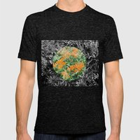 High Line Sunshine Mens Fitted Tee Tri-Black SMALL