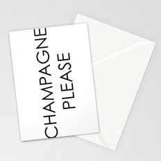 Champagne 2 Stationery Cards