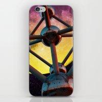 Atomium In Space iPhone & iPod Skin