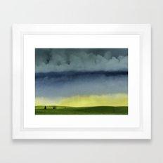 Alberta Fields Framed Art Print